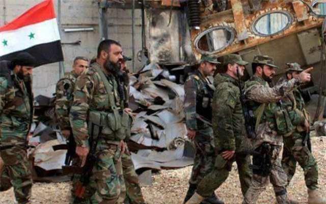 Lực lượng Hổ tinh nhuệ của quân đội Syria.