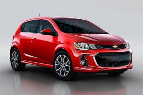1. Chevrolet Sonic 2019.