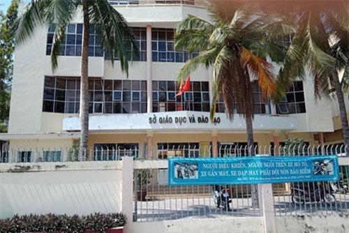 Sở GD-ĐT Bình Thuận, nơi ông Hòa công tác (Ảnh: Báo NLĐ)