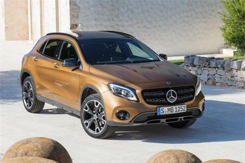 Mercedes-Benz GLA 2019.