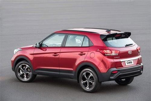 4. Hyundai Creta (doanh số: 28.674 chiếc).