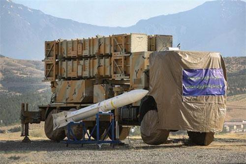 Hệ thống tên lửa phòng không Khordad 15.