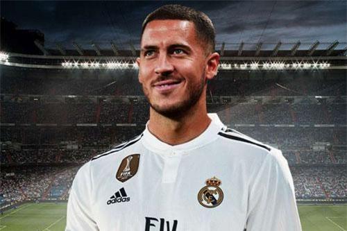 = 7. Eden Hazard (Chelsea tới Real Madrid năm 2019, 100 + 40 triệu euro).