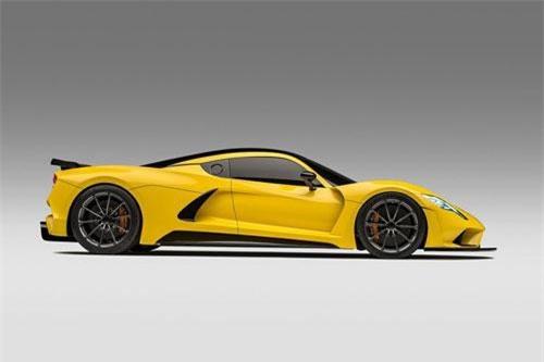 1. Hennessey Venom F5 (vận tốc tối đa: 482 km/h).