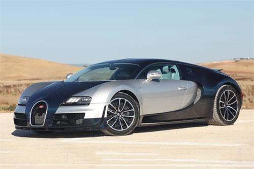 5. Bugatti Veyron Super Sport (vận tốc tối đa: 431 km/h).
