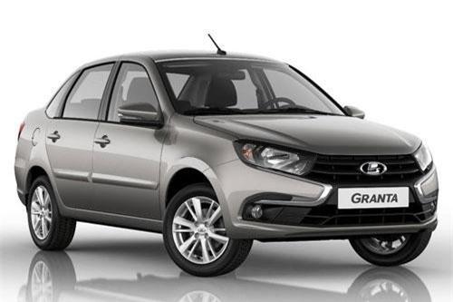 Lada Granta (doanh số: 52.373 chiếc).