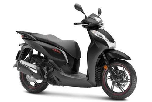 Honda SH300i 2019 màu xám đen.
