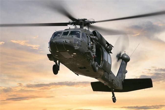 Trực thăng đa năng Black Hawk.
