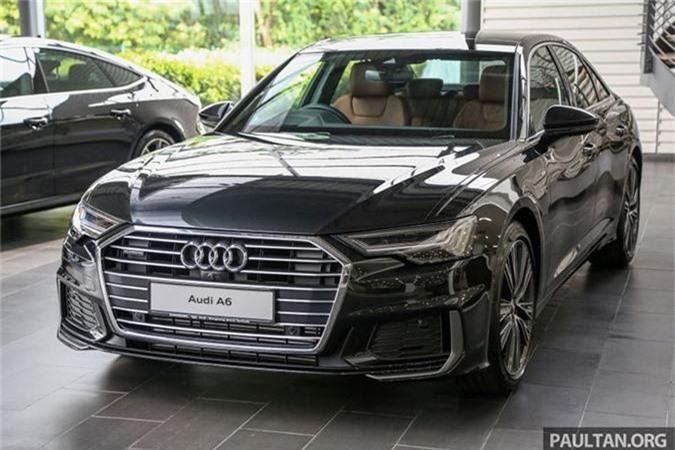 Chi tiet Audi A6 the he moi gia tu 3,28 ty Malaysia
