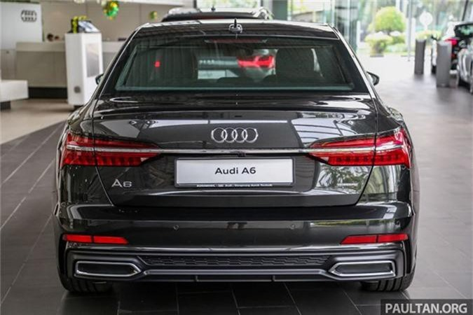 Chi tiet Audi A6 the he moi gia tu 3,28 ty Malaysia-Hinh-3