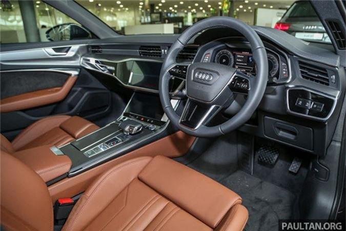 Chi tiet Audi A6 the he moi gia tu 3,28 ty Malaysia-Hinh-5