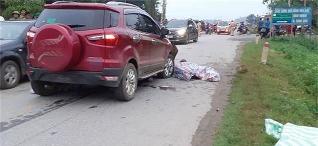 Đình chỉ công tác Thiếu úy công an lái xe tông chết 2 phụ nữ - 1