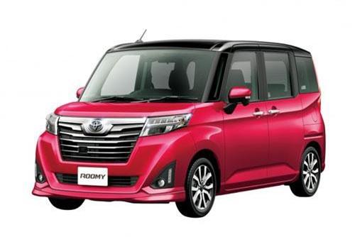 10. Toyota Roomy (doanh số: 37.206 chiếc).