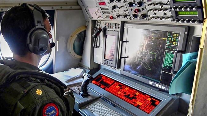 Hệ thống quản lý tác chiến trên P-3 Orion.