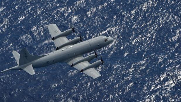Máy bay săn ngầm P-3 Orion.