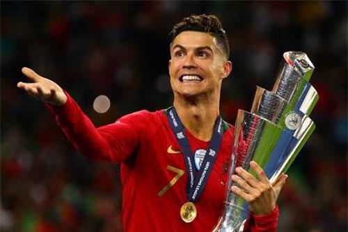 Tiền đạo: Cristiano Ronaldo (Bồ Đào Nha). Ảnh: Getty.