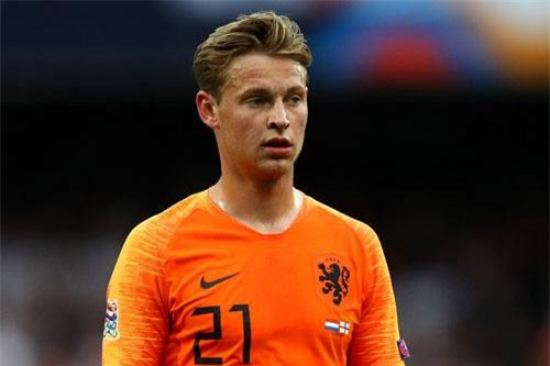 Tiền vệ: Frenkie de Jong (Hà Lan). Ảnh: Getty.