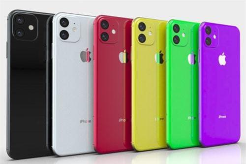Sự đa dạng về màu sắc cũng sẽ là một trong những ưu điểm của iPhone XR 2.
