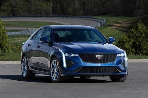 Cadillac CT4-V 2020 - kỳ phùng địch thủ của Audi A3