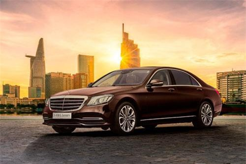 Mercedes-Benz S450L Luxury.