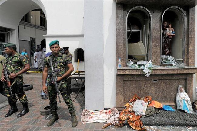 Đánh bom khủng bố vào Lễ Phục sinh tại Sri Lanka. (Ảnh: Reuters)
