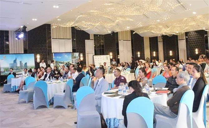 Hàng trăm đối tác, khách hàng VIP của Tâm Real tham dự buổi giới thiệu dự án (Ảnh: VH)