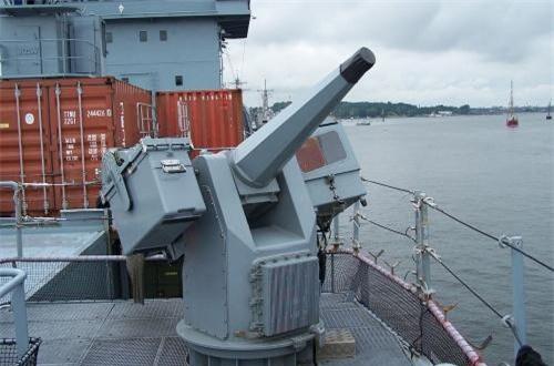 Hai khẩu pháo tự động MGL-27 cỡ 27mm có tốc độ bắn 1.700 phát/phút. Nguồn ảnh: Wikipedia