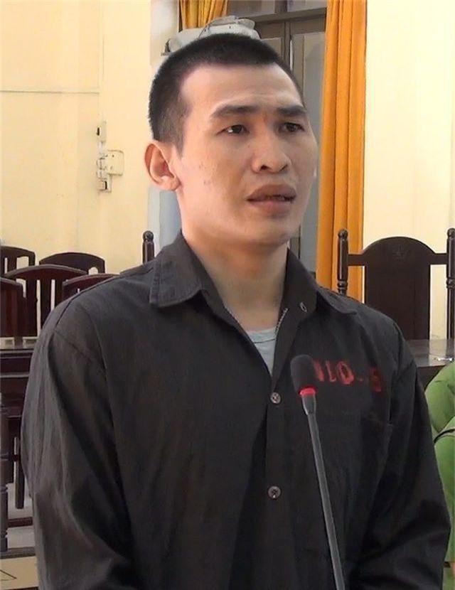 Bị cáo Huỳnh Phúc Lộc tại phiên tòa sáng 20/6.