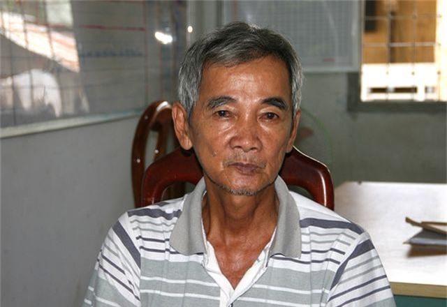 Đối tượng Trần Văn Nghe tại cơ quan điều tra công an tỉnh An Giang