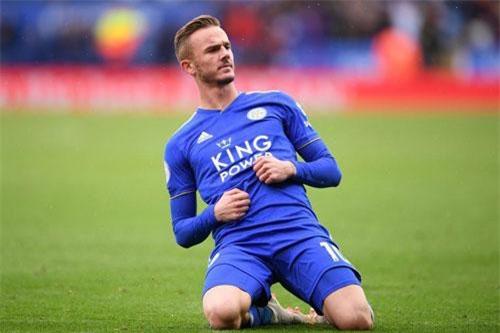 7. James Maddison (Leicester City tới Man City, M.U hoặc Tottenham).