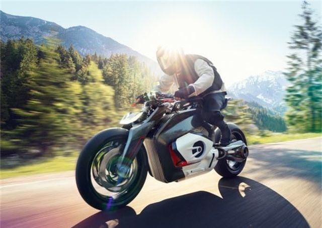 Vision DC Roadster - Ấn tượng xe naked-bike chạy điện của BMW Motorrad - 1