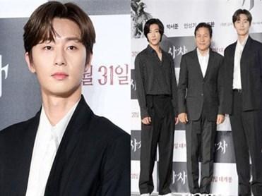 """Chẳng may lọt vào khung hình với Park Seo Joon, tài tử """"con nhà giàu"""" vạn người mê bỗng hóa bạch tuộc, nấm lùn"""