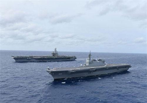 Sức mạnh của tàu sân bay Mỹ vừa ở Biển Đông khủng khiếp ra sao?