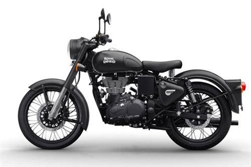 15. Royal Enfield Classic Stealth Black Edition 2019.