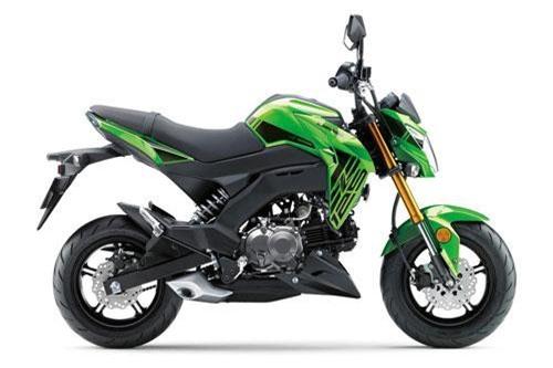 7. Kawasaki Z125 2019 (giá: 4.699 euro).