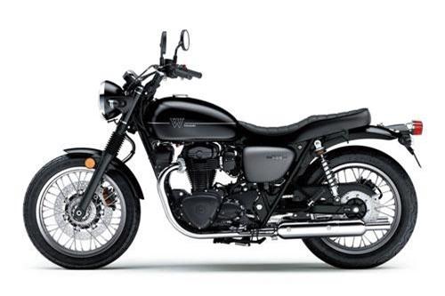 8. Kawasaki W800 Street 2019 (giá: 9.999 euro).