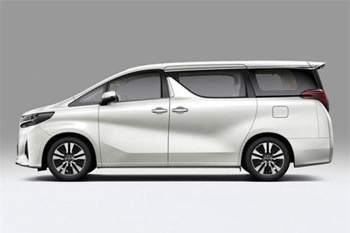 Toyota Alphard (doanh số: 1 chiếc).