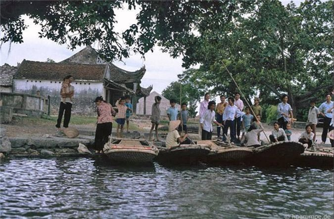 Lang ngam ve dep moc cua Tam Coc - Bich Dong nam 1991