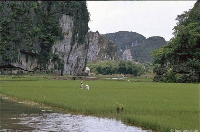 Lang ngam ve dep moc cua Tam Coc - Bich Dong nam 1991-Hinh-10