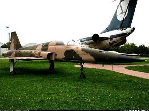Tiêm kích F-5E Việt Nam tại Bảo tàng hàng không Krakov, Ba Lan. Ảnh: Airlines.net.