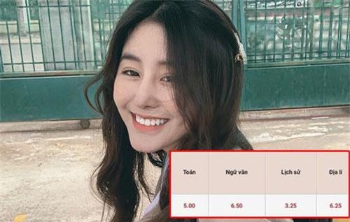 Xôn xao bảng điểm thi THPT Quốc gia của Võ Ngọc Trân - nữ sinh hot nhất Sài Gòn: HSG Văn nhưng chỉ được 6.5 điểm, tiếng Anh 4.8?