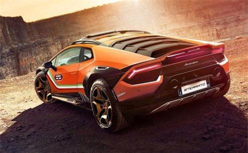 Siêu xe Lamborghini Huracan Sterrato.