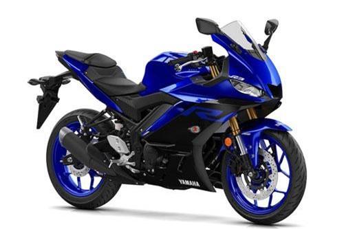 1. Yamaha YZF-R3 2019 (giá: 5.999 euro).