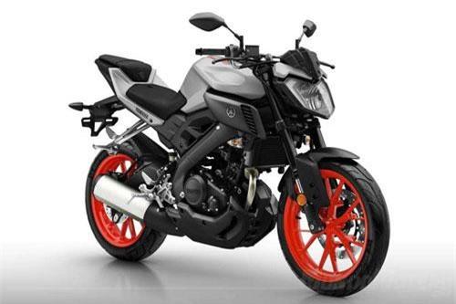 2. Yamaha MT-125 2019 (giá: 4.899 euro).