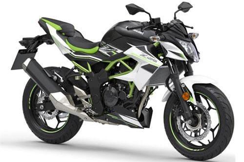 6. Kawasaki Z125 2019 (giá: 4.699 euro).