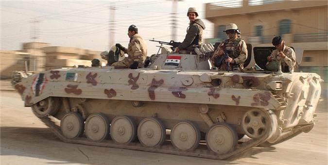 Them thuong dan xe thiet giap BMP-3 Nga san xuat cho Iraq-Hinh-8
