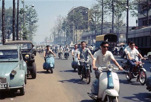Ảnh 'không đụng hàng' về giao thông Sài Gòn năm 1968