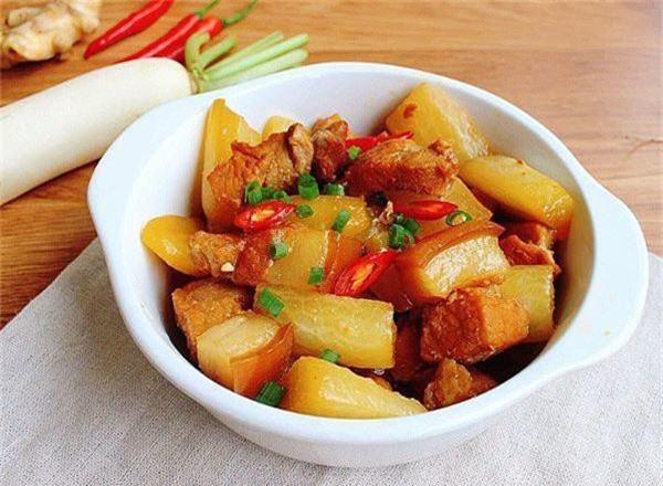 Cách làm thịt kho củ cải mềm ngon
