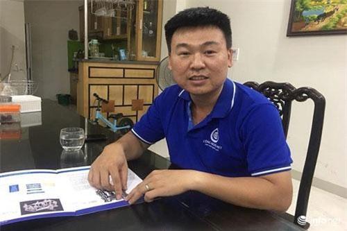 Giám đốc Công ty TNHH Công nghệ xử lý nước TA Vũ Tiến Anh, người khởi nghiệp với hệ thống xử lý nước công nghệ MET.