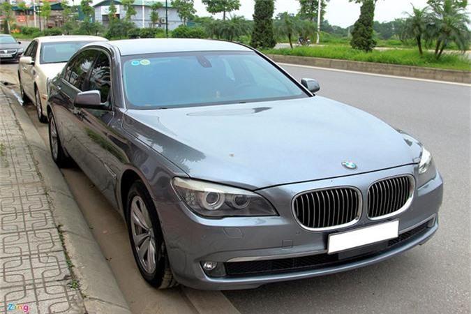 BMW 730 Li.